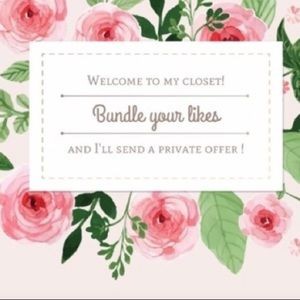 Bundle your likes & I'll send you a private offer